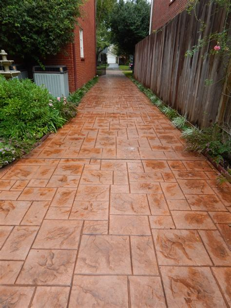 concrete decor sted concrete driveway archives allied outdoor solutions