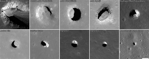 pit moon and lunar pits could shelter astronauts reveal details of how