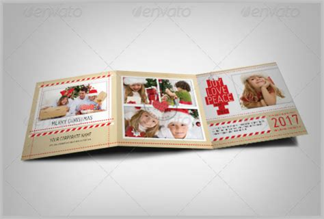 3 Fold Card Template by 10 Card Designs Free Premium Templates
