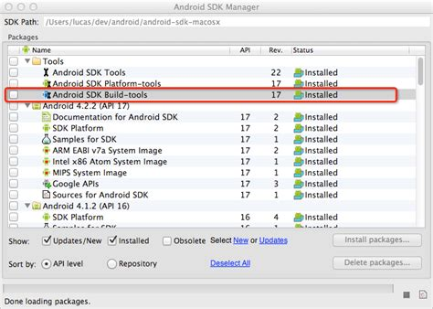 android build tools android build failing with build xml 479 sdk does not any build tools installed stack