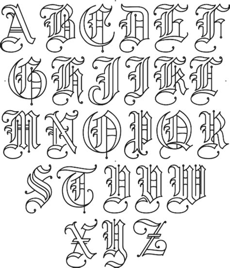 old english tattoo lettering generator free pin by czarina nina on letters pinterest fonts and