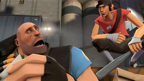 The Scout team fortress 2 update revs the scout goes on half