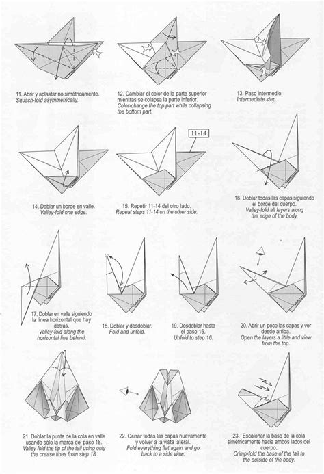 How To Fold A Origami Swan - swan origami by diaz