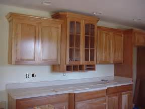 Trim On Kitchen Cabinets by How To Cut Crown Molding For Kitchen Cabinets Ehow Uk
