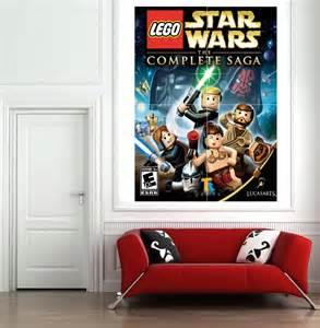 Lego Wall Stickers For Kids Rooms Large Size Lego Star Wars Wall Sticker For Kids Room Wall