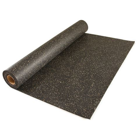 Rolled Rubber Flooring by Home Rubber Flooring Roll 4x10 Ft X 1 4 Inch Home