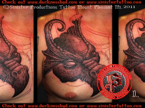 sinister tattoo sinister productions studio