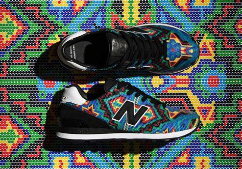 Sepatu New Balance Warna Warni sepatu new balance 574 x ricardo seco warna warni khas