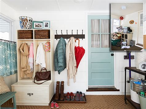 Laundry Room Make Over - mudroom ideas entryway furniture