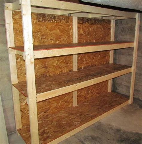 basement storage shelves ideas  pinterest diy