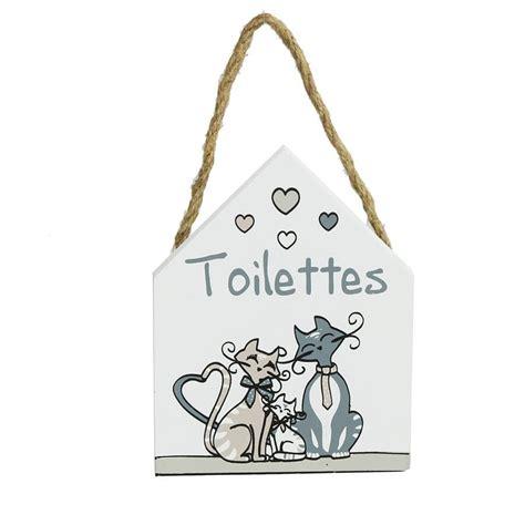 Plaque De Porte Wc Et Salle De Bain by Plaque De Porte Pour Toilette Famille De Chats