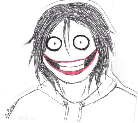 jeff the how to draw jeff the killer