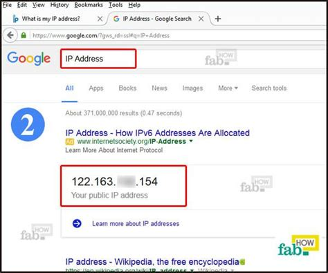 Type Search Or Address How To Find Ip Address Of Windows And Mac Fab How