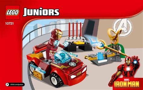 Lego Juniors 10721 Iron Vs Loki Junior Vs Ironman Easy To Build lego iron vs loki 10721 4 juniors