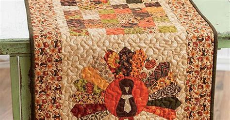 let s talk turkey table topper quilt this quilted table