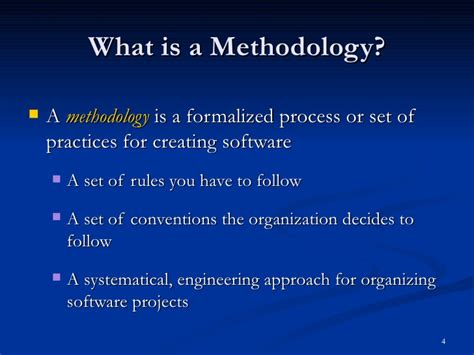 what is methodology in research paper agile methodologies and programming