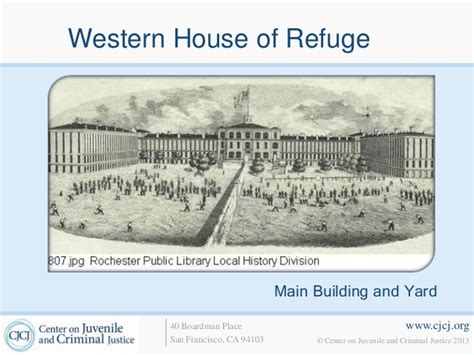 House Of Refuge by 2 Origins Of The House Of Refuge Movement