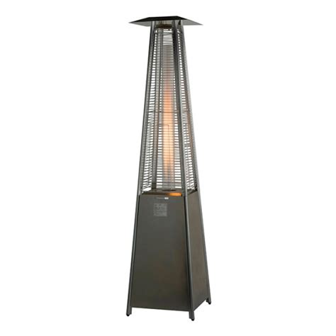 stainless patio heater lifestyle tahiti stainless steel patio heater lfs824