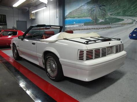 1990 25th anniversary mustang 1990 mustang gt 5 0 25th anniversary convertible white w