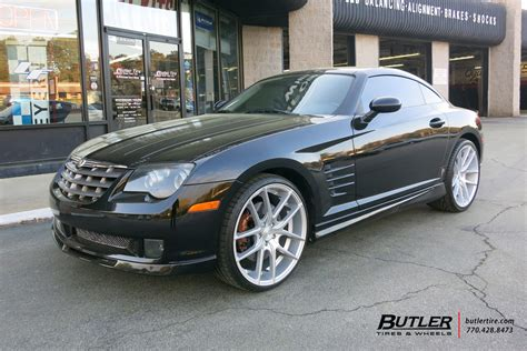 Chrysler Crossfire Tires by Chrysler Crossfire With 20in Niche Targa Wheels