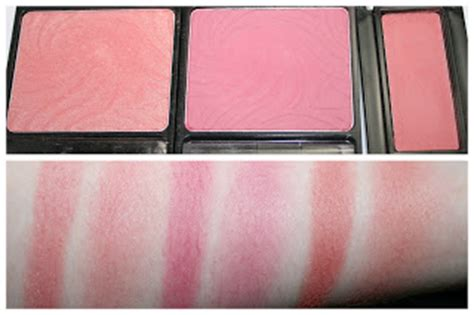 And Color Icon Blush Chagne Blushon Blush On vibrancy on a brush blush collection and swatches