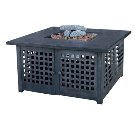 target propane pit gas outdoor pit with tile mantel target