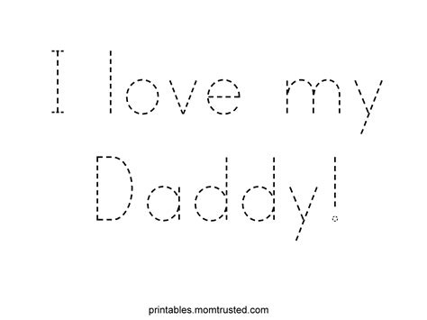 s day kindergarten fathers day printables for toddlers fathers day