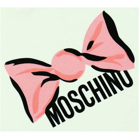 Sweet Moschino moschino baby girl s white t shirt with pink sweet print