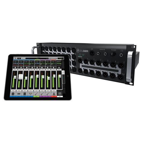 Mixer Wireless dl32r 32 channel wireless digital mixer mackie