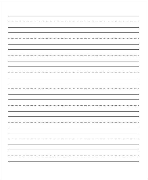 dotted line template 25 free lined paper templates free premium templates