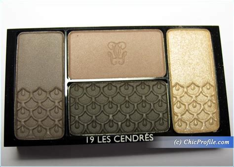 Eyeshadow Guerlain guerlain les cendres eyeshadow palette review swatches