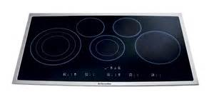 36 In Electric Cooktop Electrolux Ei36ec45ks 36 Quot Electric Cooktop Stainless Steel