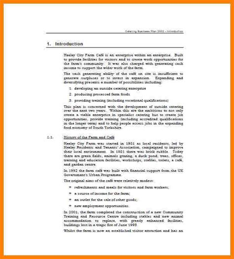 Introduction Letter Catering Company 6 Exle Of Business Introduction Introduction Letter