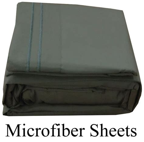 gray microfiber sheets queen size deep pocket