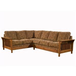 Craftsman Style Sofa by Craftsman Usa 902 Mission Sectional Atg Stores