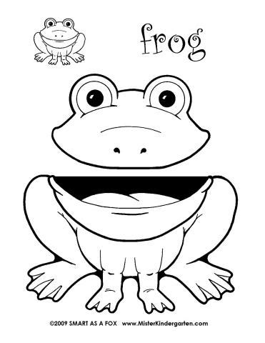 frog puppet pattern paper bag 17 animal paper bag templates images paper bag animal