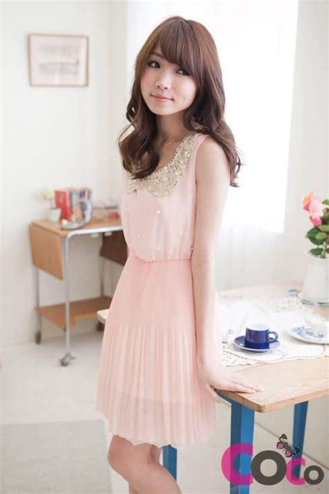 Dress Pinkmini Dress Koreadress Casualsg pin by klr igt on my future closet