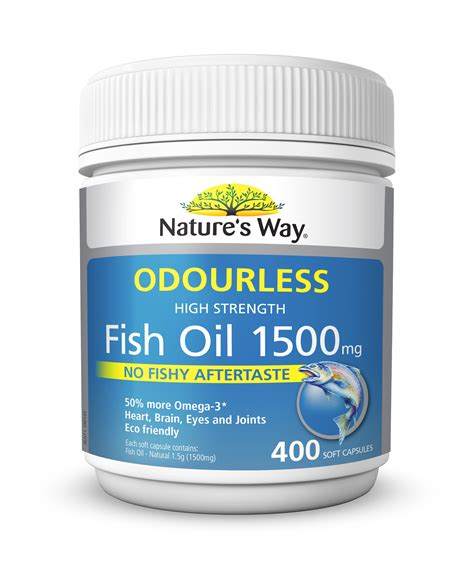Natures Own Odourless Fish 1000mg 400 Capsules natures own 1500mg fish all the best fish in 2018