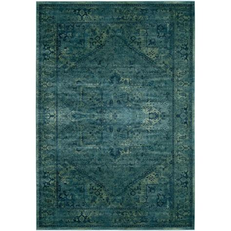 safavieh vintage turquoise 8 ft safavieh vintage turquoise 8 ft 10 in x 12 ft 2 in area rug vtg114 2220 9 the home depot
