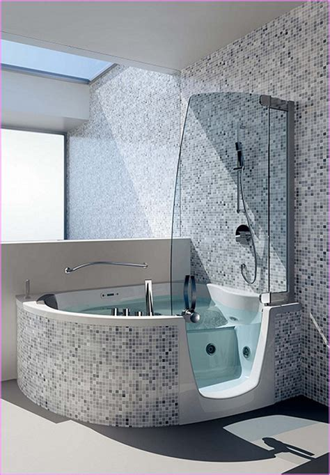 Walk in tub and shower combo home design ideas