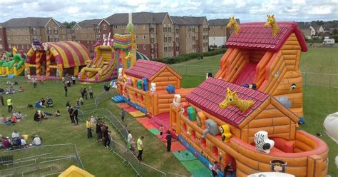 theme park bristol an inflatable theme park is coming to gloucestershire in