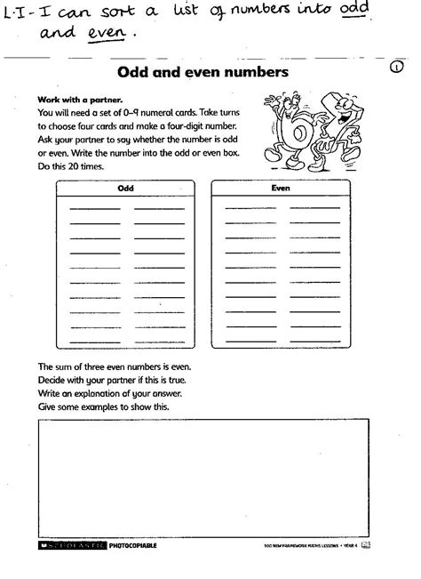 Literacy Worksheets by Homework Sheets For Year 4 Descargardropbox