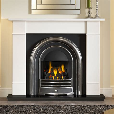In Fireplace by Gallery Brompton Fireplace With Efficiency Plus