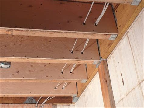 Reinforcing Floor Joists by Building A House A Simple Plan Wiring And Half