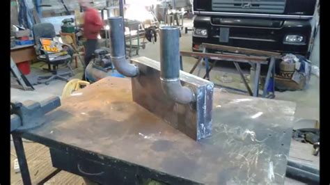 How To Make A Fireplace Heat Exchanger by Fireplace Heat Exchanger