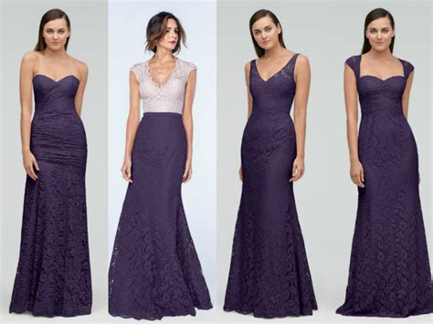 Bridesmaid Dresses 2018 - purple mermaid bridesmaid dresses 2018 premarry wedding