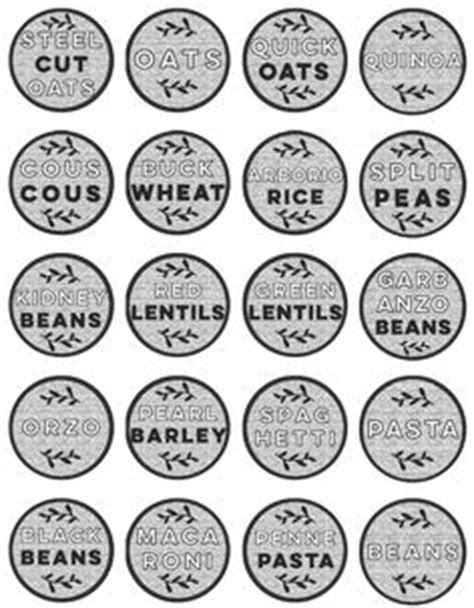Kitchen Labels Uk 1000 Images About Kitchen Pantry Labels On