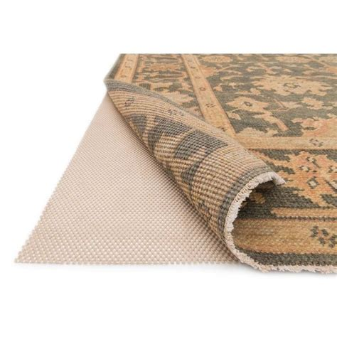 rug padding loloi 12 x 15 premium grip rubber rug pad in beige pad1pad01be00c0f0