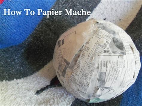 How To Make Starch For Paper Mache - 17 best images about paper mache paper clay on