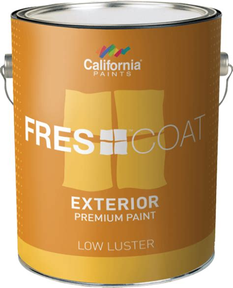 fres coat exterior california paints